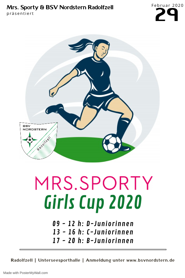 1. Mrs. Sporty Girls Cup 2020